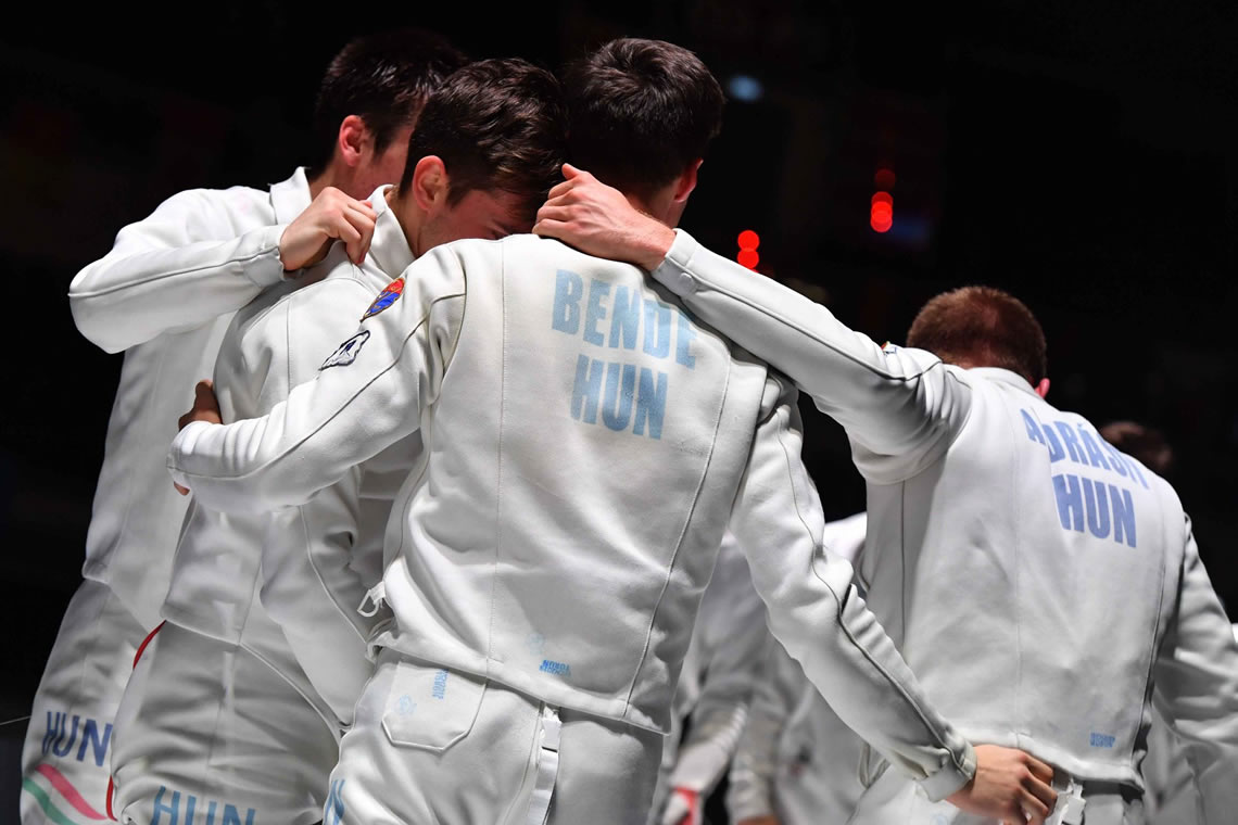 Junior Epee Men's Team Torun 2019