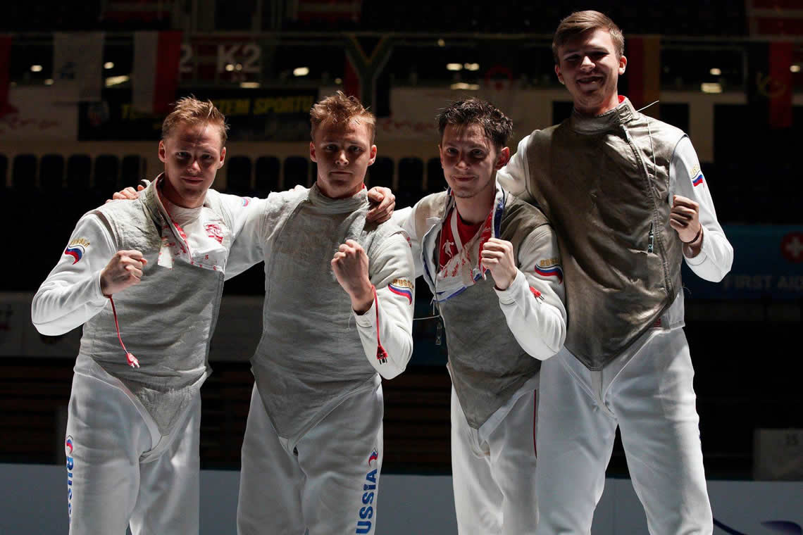 Junior Foil Men's Team Torun 2019