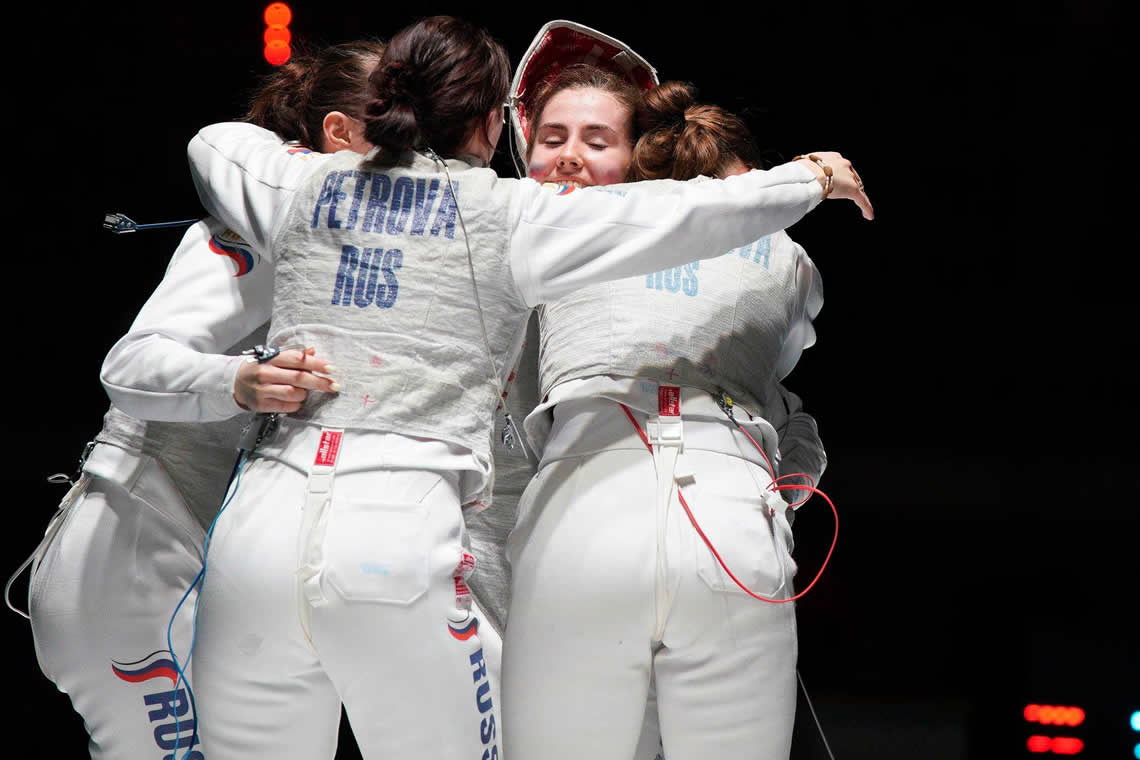 Junior Foil Women's Team Torun 2019