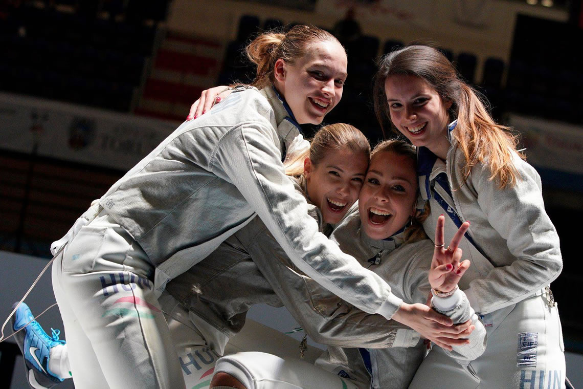 Junior Sabre Women's Team Torun 2019