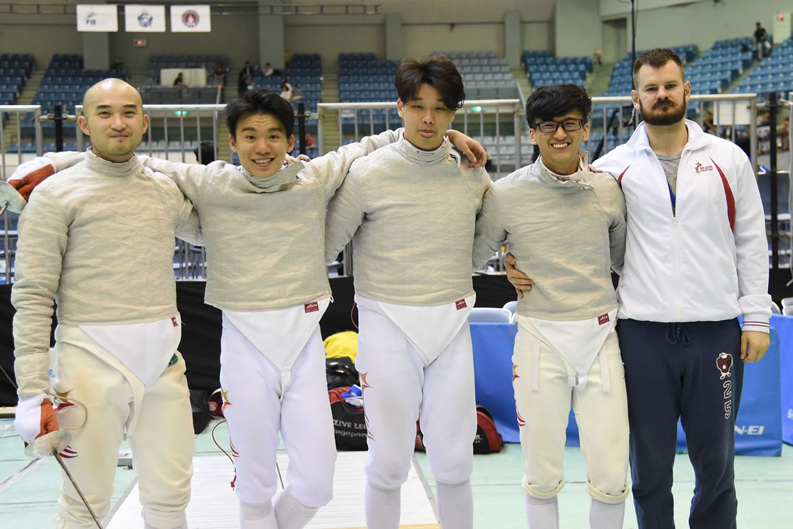 Asian Fencing Championships Sabre Men's Team Tokyo Japan