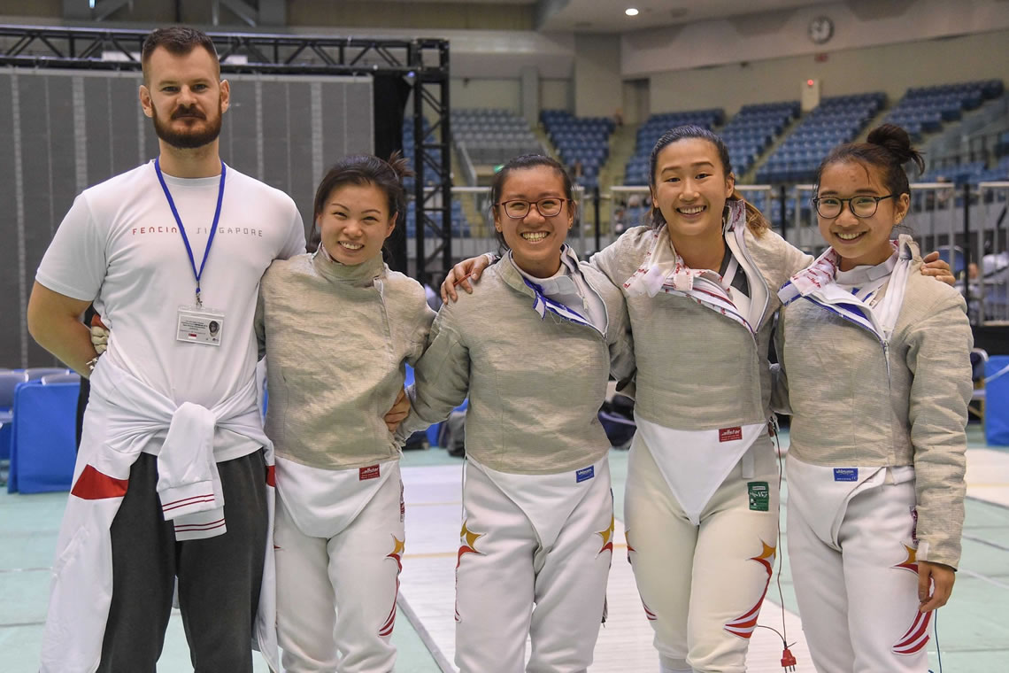Asian Fencing Championships Sabre Women's Team Tokyo Japan