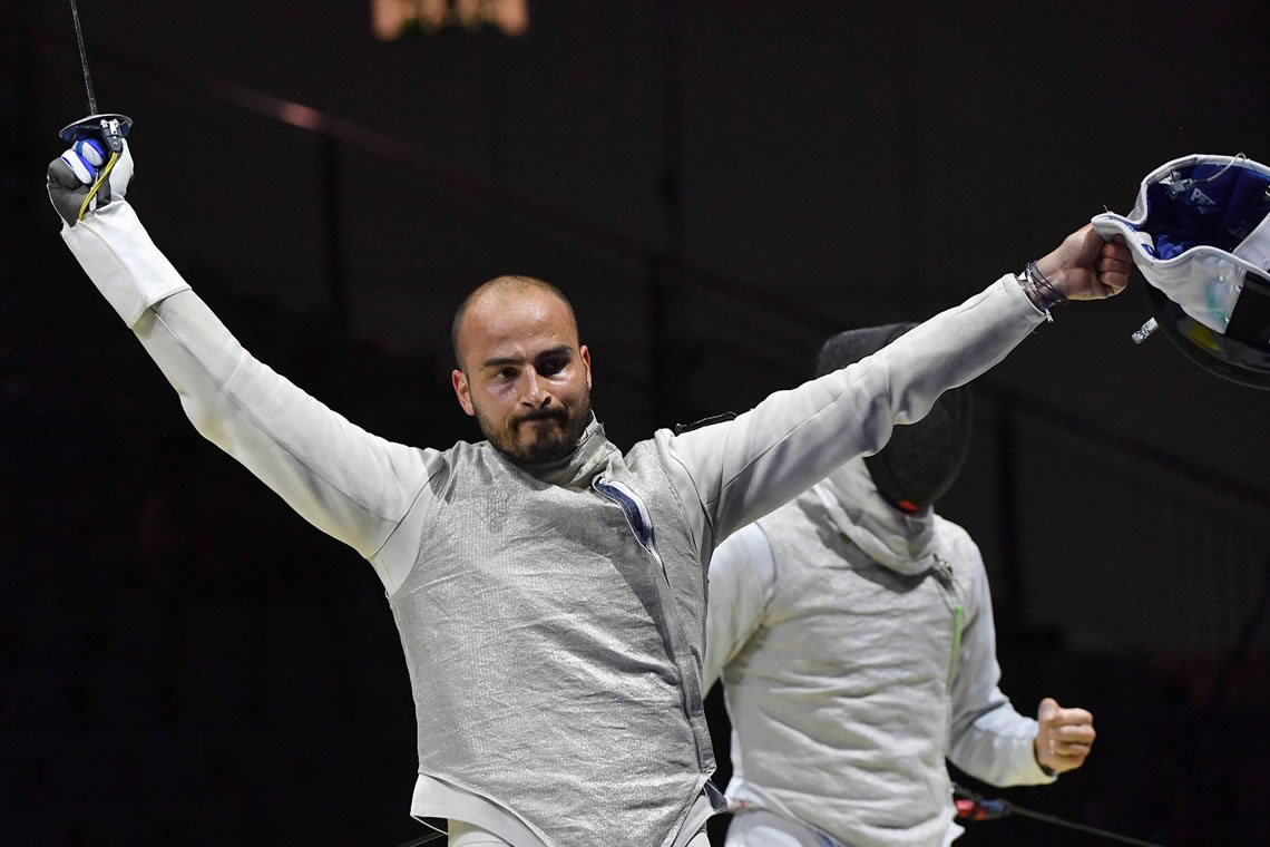 European Fencing Championships Foil Men's Individual Dusseldorf Germany