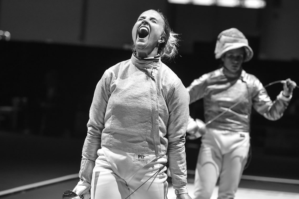 European Fencing Championships Sabre Women's Individual Dusseldorf Germany